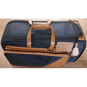 daCarbo Flugelhorn Trumpet Bag Synthetic Leather